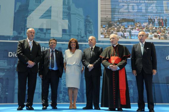 Medallas de Oro de la Ciudad de Madrid 2014