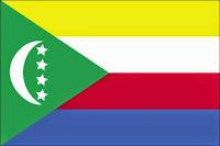εθνική σημαία Κομόρες, national flag of Comoros.