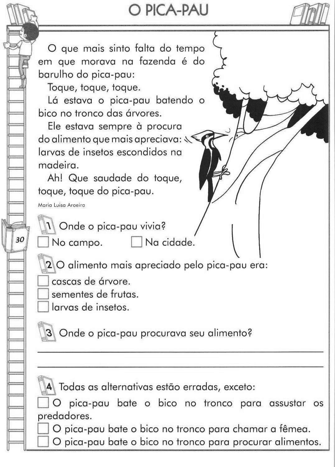 Texto com Interpretação 4º e 5º ano