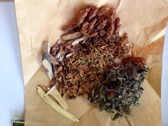 dried herbs for chicken pox - traditional chinese medicine