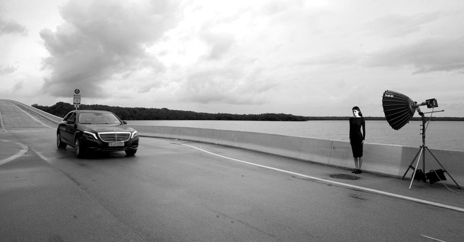 *極致品味的迷幻廣告:時尚編輯Carine Roitfeld x Mercedes-Benz 4