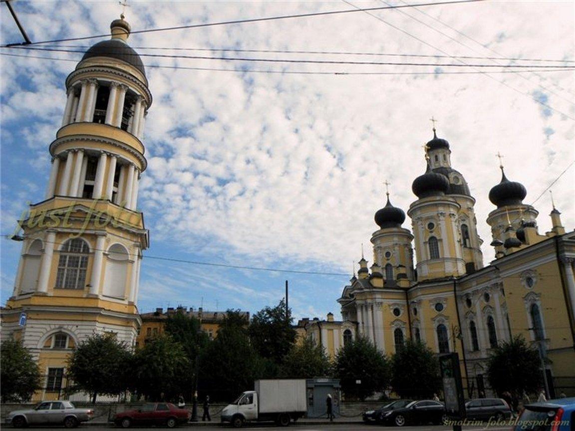 Владимирский Собор колокольня Санкт-Петербург фото