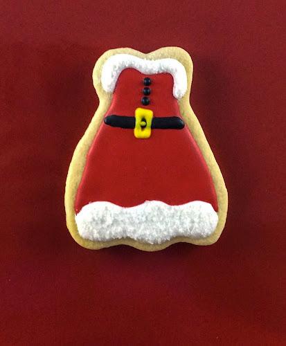 Ciastka, ciasteczk,Święty Mikołaj, upominek,prezent,lukier królewski,Boże Narodzenie