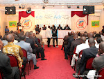 Conférence de presse de l'Alliance pour le développement et la République (ADR) le 16/08/2012 à Kinshasa. Radio Okapi/ Ph. John Bompengo