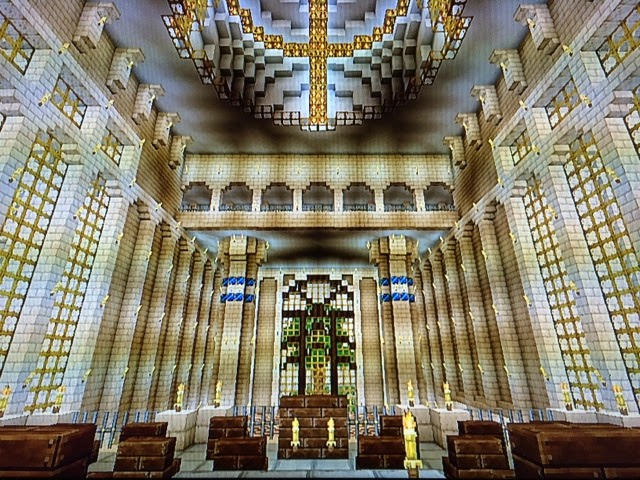 Minecraft Foyer Ideas : My minecraft creations the fantasy castle