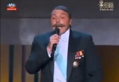 D. Duarte Piu nos Globos de Ouro 2012