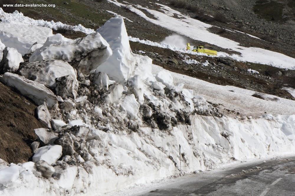 Avalanche Lauzière, secteur Col de la Madeleine, Secteur du Gros Villan - Photo 1 - © Duclos Alain