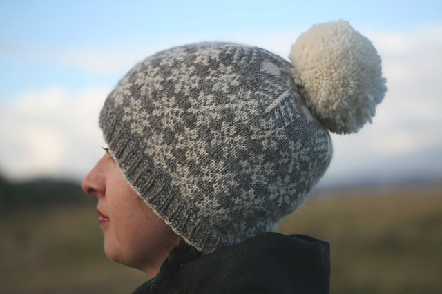 gorro punto bonito beautiful knit hat