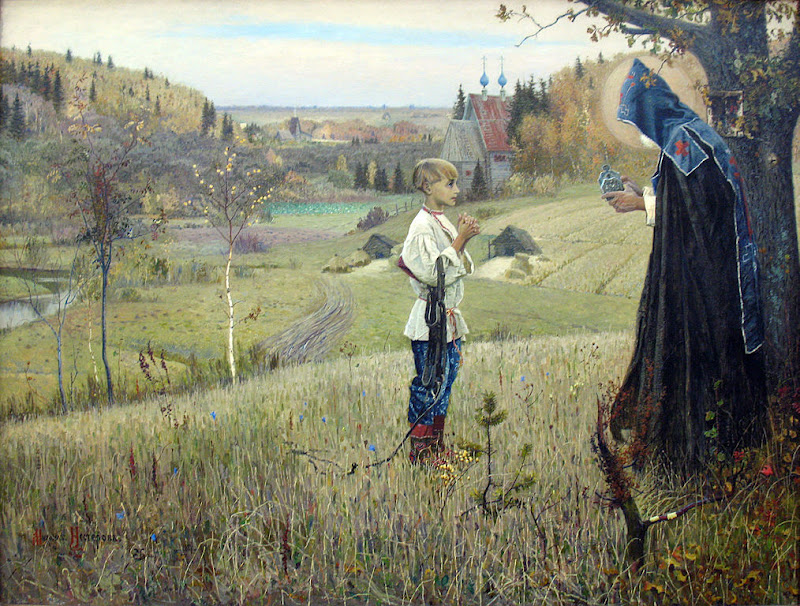 Mikhail Nesterov - The Vision of the Youth Bartholomew