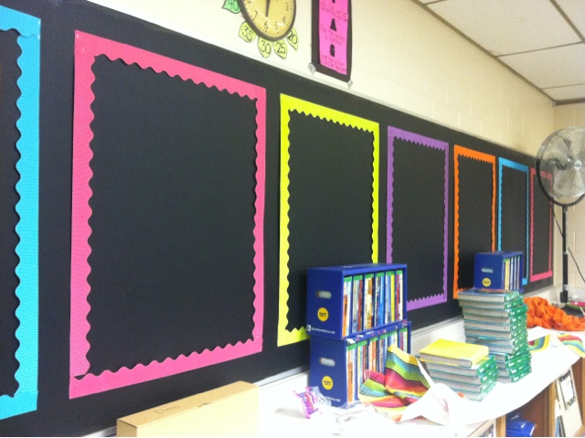 Classroom Wall Decoration With Charts : The pired teacher setting up my classroom day