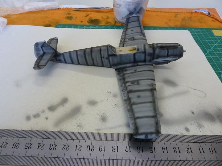 Bf-109 E-3 Tamiya 1/48 - Reforma pintura P1020456