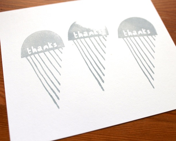 making yellow owl workshop stamp set thank you notes practice stamping