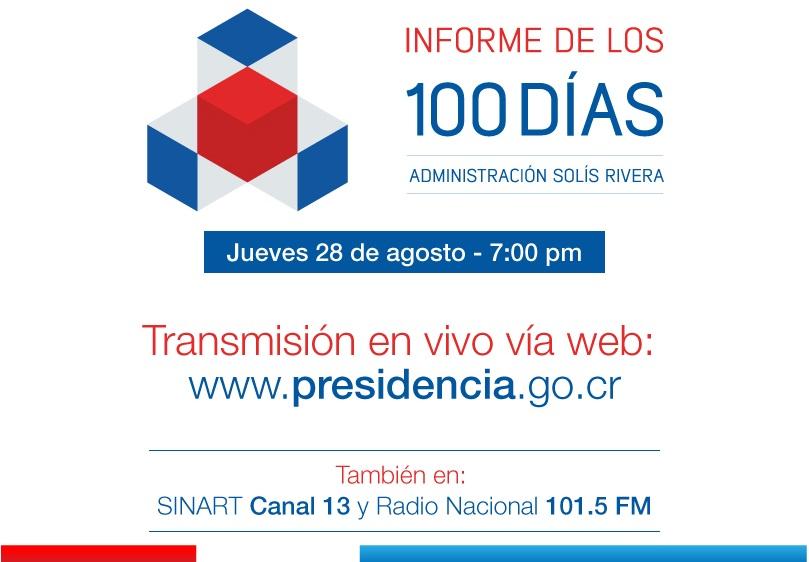 INFORME DE LOS 100 DÍAS