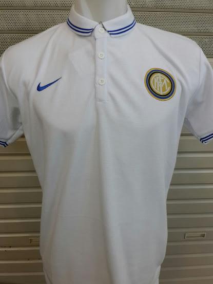 Jual Polo Inter Milan Putih Terbaru 2014-2015
