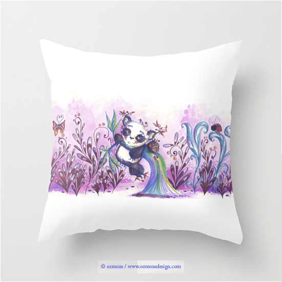 produit pour un calin sur society 6, illustration by ozmoze