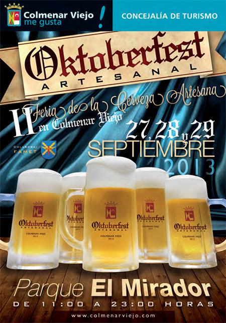 II Oktoberfest Artesanal de Colmenar Viejo, del 27 al 29 de septiembre de 2013