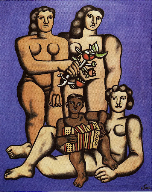 Fernand Léger - Les trois soeurs (1952)