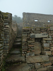 Escaliers de la place principale