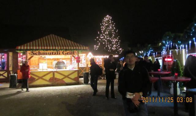 我在蘇黎世其中一個聖誕市集