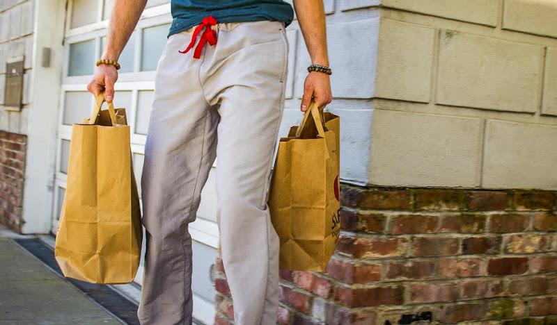 Ash Gray Active Karate Casual Drawstring Pants