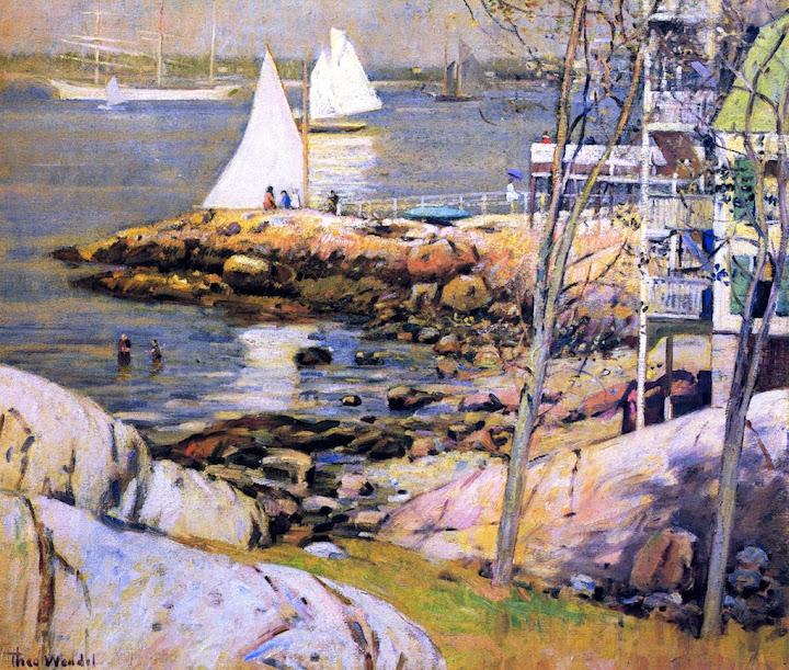 Theodore Wendel – Gloucester Harbor