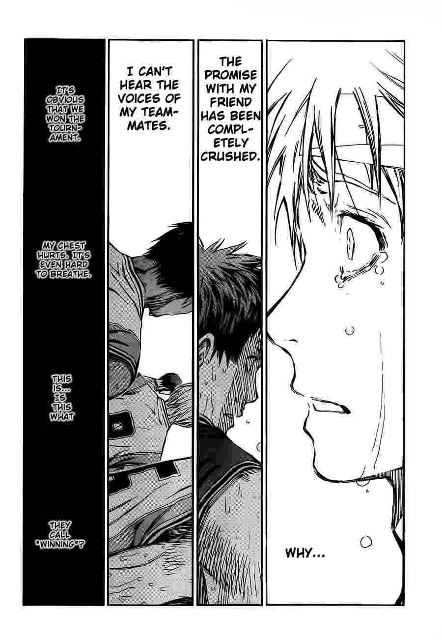 Kuroko no Basket Manga Chapter 226 - Image 18