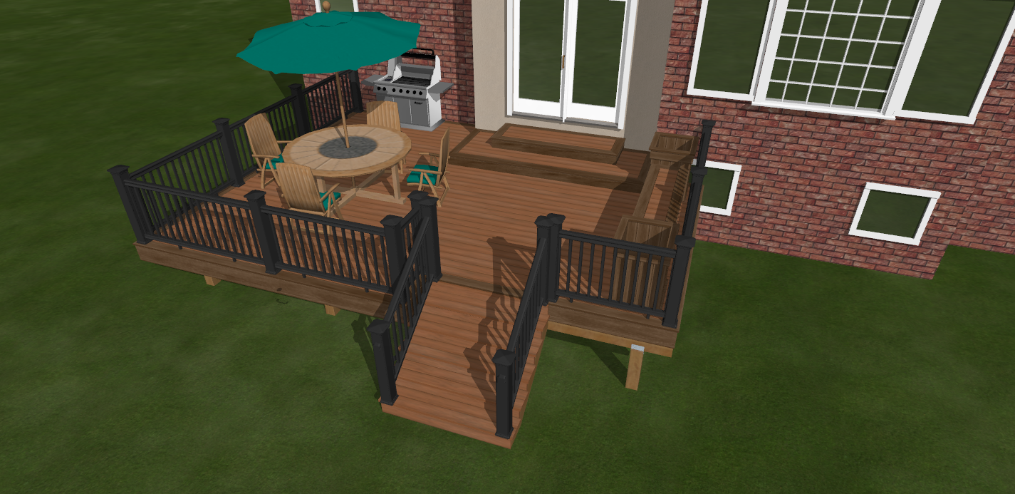 Small backyard deck ideas mystical designs and tags for Backyard deck designs plans