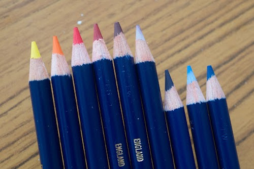 Review Derwent Inktense Watercolour Pencils