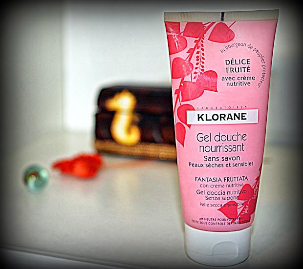 Klorane gel douche без мыла