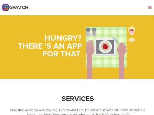 Swatch - Flat Responsive Multi-Purpose WP Theme