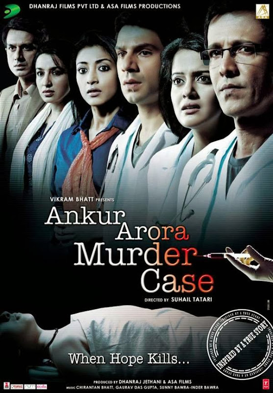 Cover of Ankur Arora Murder Case (2013) Hindi Movie Mp3 Songs Free Download Listen Online at Alldownloads4u.Com