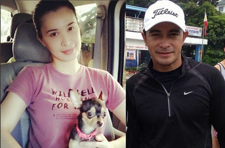 Sunshine Cruz and Cesar Montano
