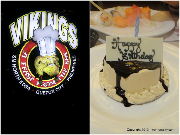 Birthday Celebration at Vikings, SM North Edsa