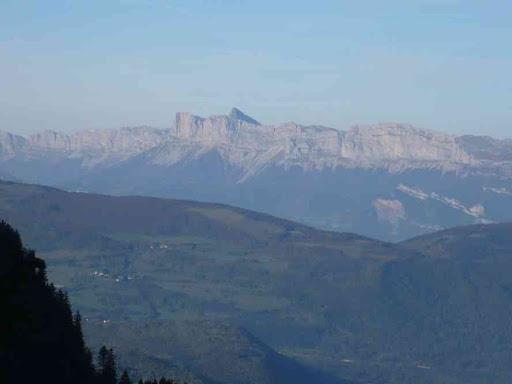 Vers le Vercors, souvenir d'une précédente randonnée...