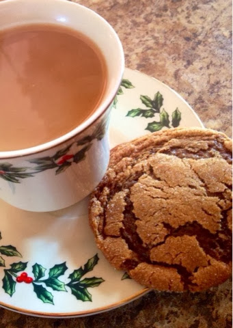 our christmas photos & recipe for yummy classic molasses cookies