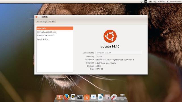 Linuxed exploring linux distros ubuntu 1410 vs kubuntu 1410 vs from ubuntu 1410 httpmylinuxexplorespot reheart Images