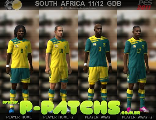 África do Sul 11-12 Kitset para PES 2011 PES 2011 download P-Patchs