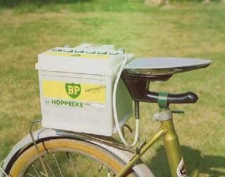 Bicileta com banco aquecido