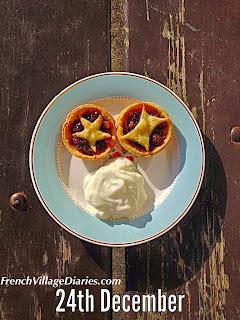 French Village Diaries french food advent calendar yoghurt zest
