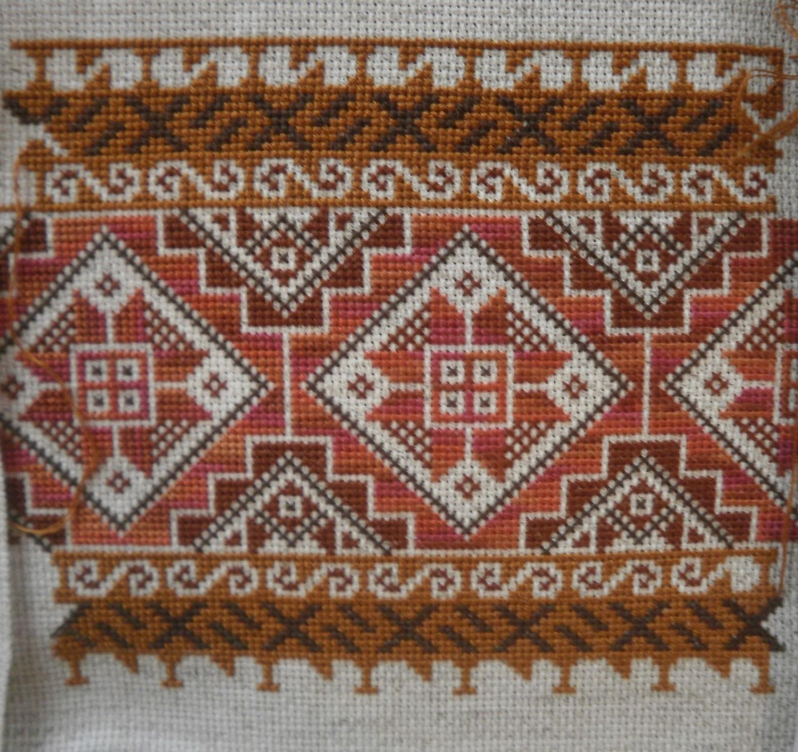 The world according to Ági: hungarian folk art motifs stitched