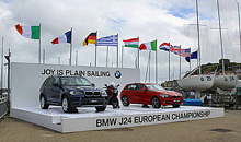 BMW Ireland sponsor J/24 Europeans- joy is plain sailing