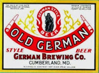 Old German Brewery Label