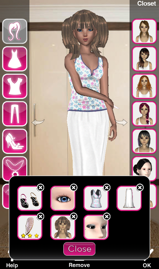updated style me girl level 20 dream theme no cash items i style me girl