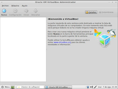 Instalar Oracle VM VirtualBox en Linux Mint