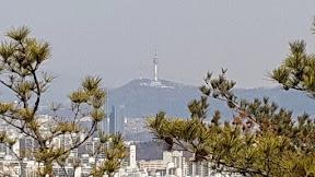 까치산길 관악산 선유천국기봉