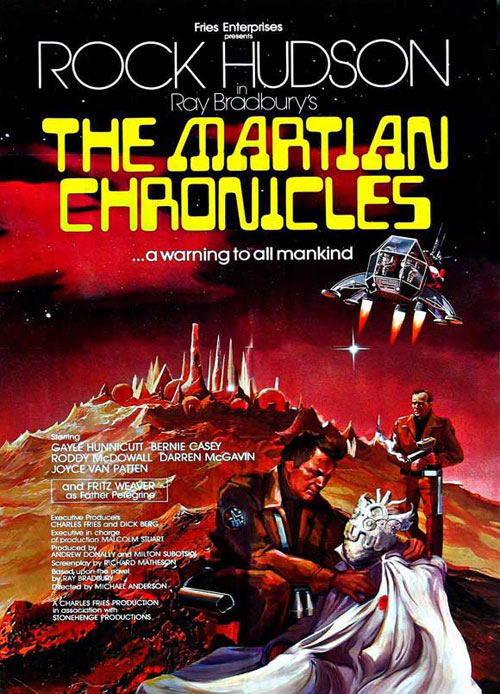 a comparison of the book and the movie the martian chronicles The martian chronicles rock hudson blu-ray  emotional connection from the book in this movie,  but are no comparison in terms of ability to portray them.