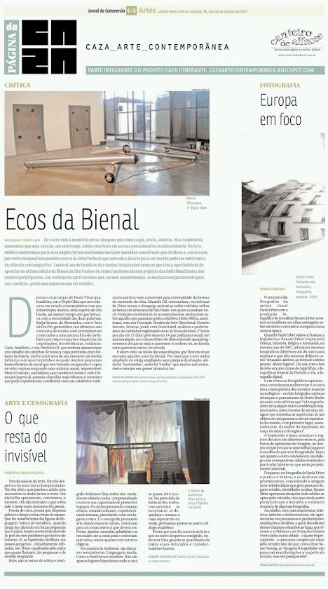Página da Caza - 18 de Janeiro de 2013