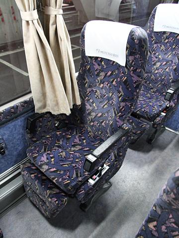 名鉄バス「名古屋~松山線」 シート