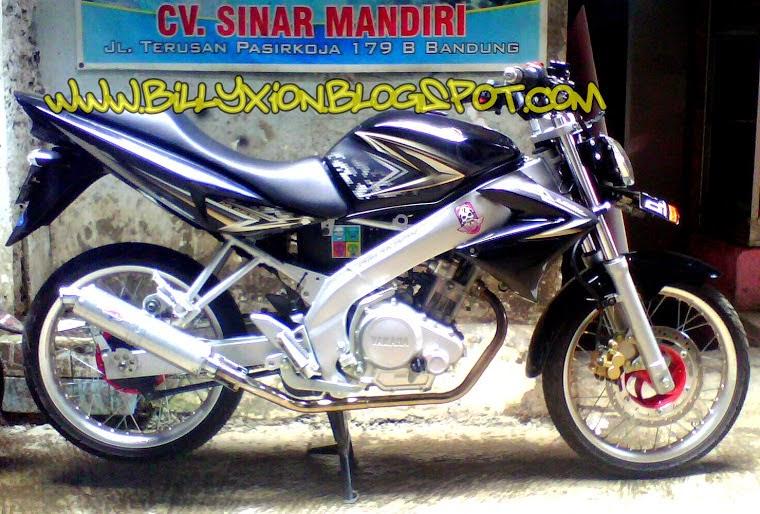 Yamaha New Vixion Modifikasi Jari Jari
