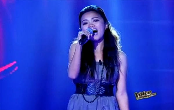 Jessica Corpuz Sana'y Wala ng Wakas The Voice Philippines Blind Audition